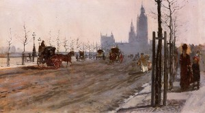 Giuseppe-De-Nittis-The-Victoria-Embankment-London